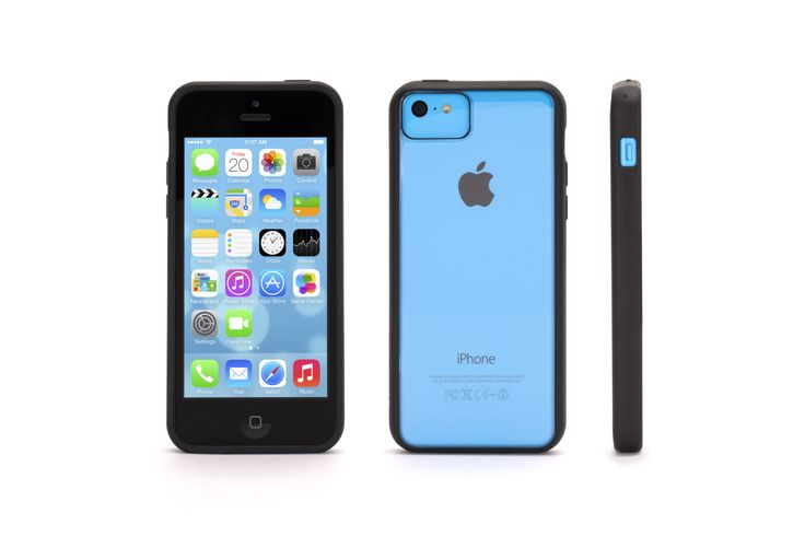 Sleek, one-piece design that lets the colour of your iPhone 5c shine through. The thin polycarbonate shell protects while adding only a little over a millimeter in thickness and the slim rubber edges cushion and grip your iPhone 5c tightly.