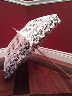 Idle Hands: Restored Parasol, c. 1900
