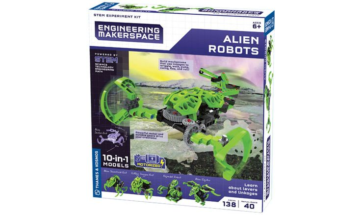 Science Kits: Engineering Makerspace Alien Robots