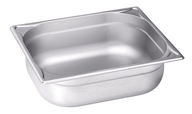 GTARDO.DE:  Edelstahl GN-Behälter 1/2 GN, bis 280°C, BxTxH 325x265x200 mm, 11.7 Ltr., GN 1/2-200 47,00 €