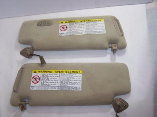 99-03 Lexus RX300 Sunvisor Pair Left & Right Lighted Homelink Tan OEM    eBay #lexus #rx300 Check out what's at @RightChoiceHarbor on Facebook Also visit rightchoiceautoparts.com or rightchoiceharbor.com  Follow us on social media and be in the know of the latest deals:  Facebook - http://fb.com/RightChoiceHarbor/ Twitter - @RightHarbor  Tumblr - thinkbiggerquicker.tumblr.com  Instagram - @rightchoiceharbor  Pinterest - http://pinterest.com/rightharbor