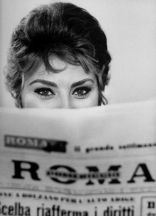 Sophia Loren (1961, photo by Alfred Eisenstaedt)