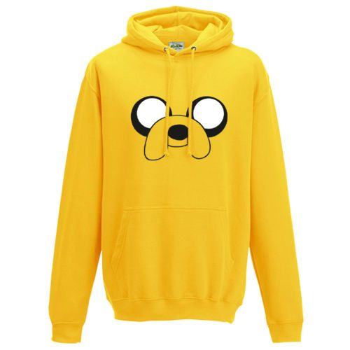Adventure-Time-Jake-le-chien-a-capuche-Design-Inspire-Drole-Unisexe-Sweat-a-capuche-top