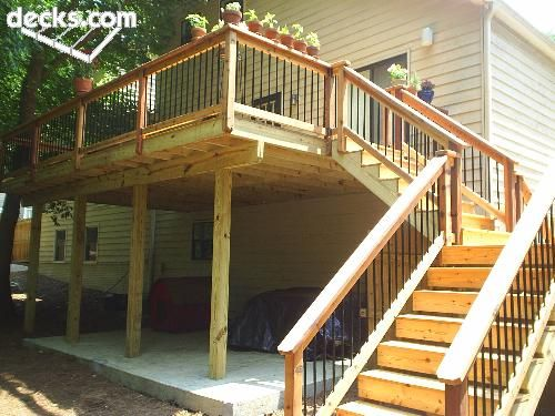 High Elevation Deck Picture Gallery Backyard Ideas In