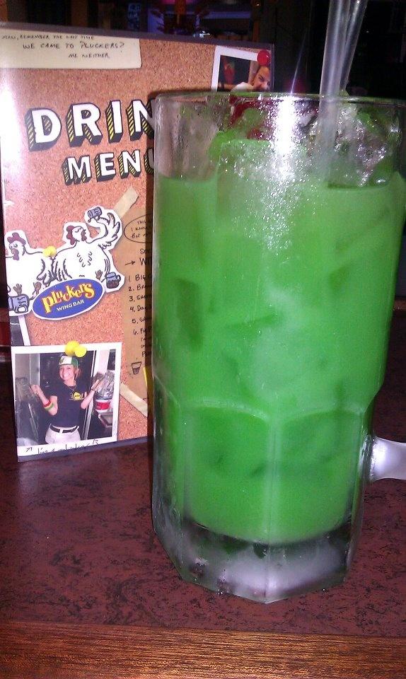 Green Gator Alcohol Drink