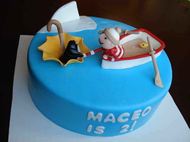 Oliver Jeffers Themed Cake From The Book Lost Amp Found My