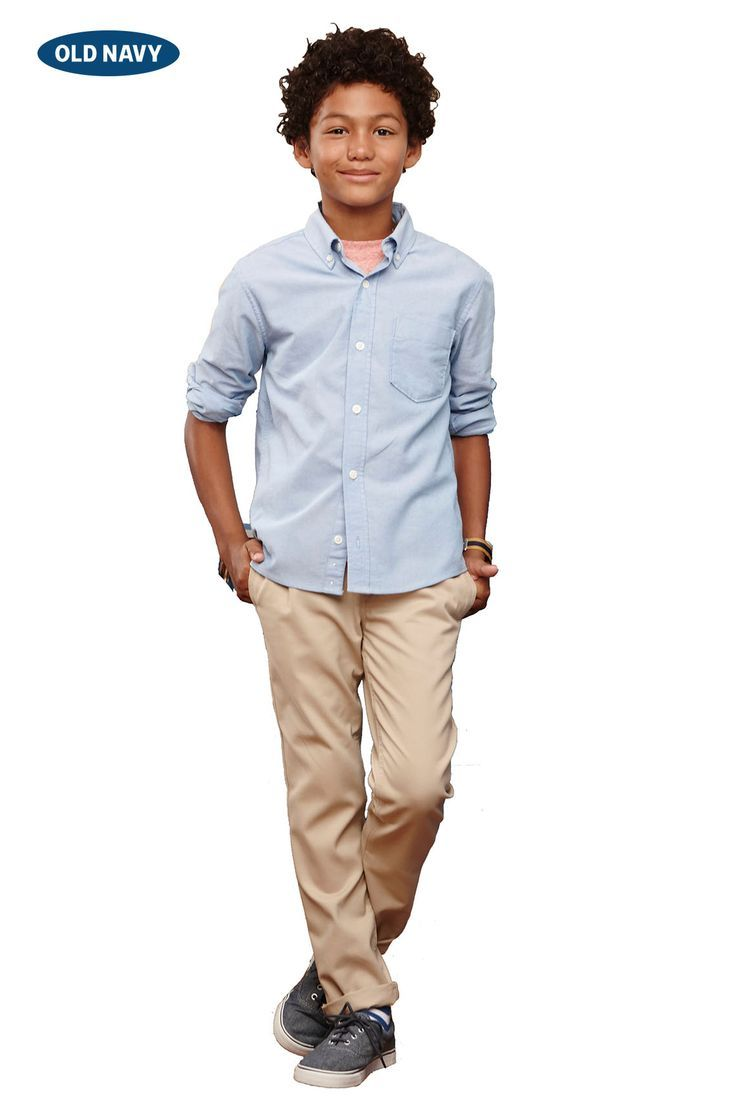 b2a725a2b155 All buttoned up. in back-to-school basics  an oxford shirt
