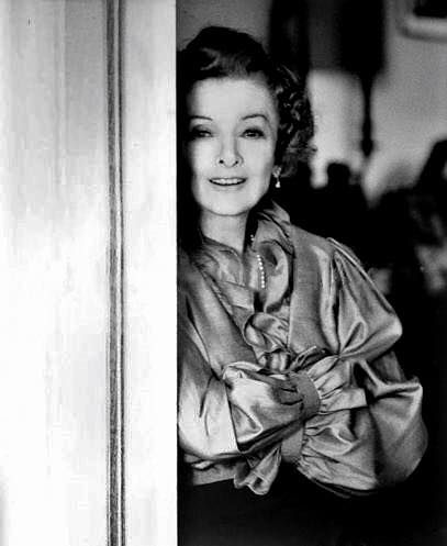 Myrna Loy in 1990.