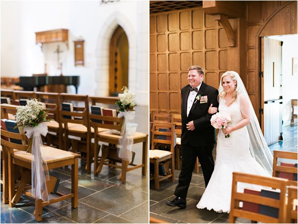 Phillips Chapel At The Canterbury School Greensboro NC Triad Weddings Mark Potter Photography