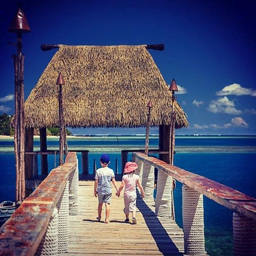 Family Friendly Spots in Fiji: Malolo Island Resort. Photo by maloloisland.com