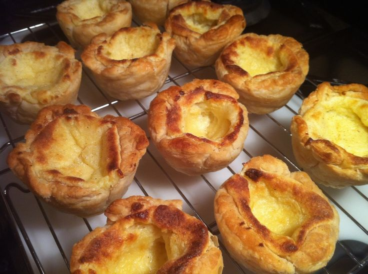 Paul Hollywood's Portuguese Custard Tarts. tried these in portugal mmm. cant wait to try these
