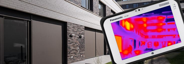 Panasonic introduces at Mobile World Congress a fully rugged tablet  with FLIR Thermal Imaging Camera to capture and process images on the  move