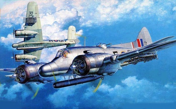 Bristol Beaufighter TF X by Shigeo Koike