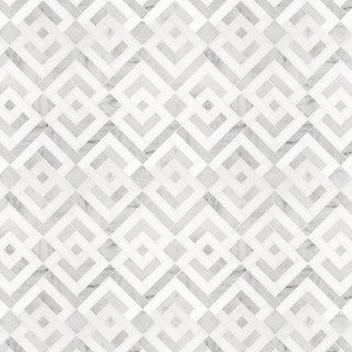 Signet Collection Parquet Solid Mosaic - eclectic - bathroom tile - other metro - by Waterworks