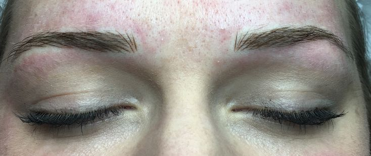 This gorgeous girlie just needed her brows a bit more filled out, she already had a good structure to her own brows but wanted to keep natural still