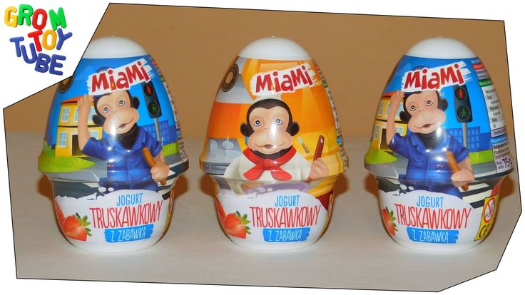 UNBOXING MIAMI FUNNY MONKIES SERIES SURPRISE EGGS