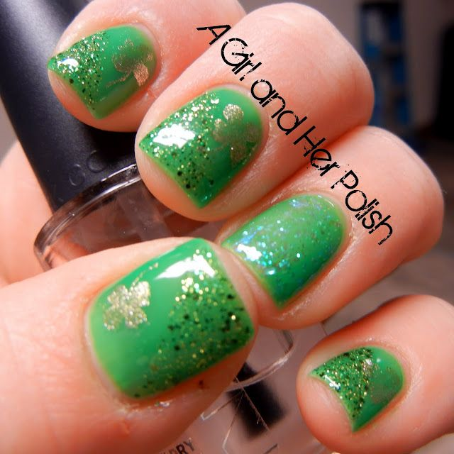 127 best st patricks day nail design images on pinterest if you love to do your nails to match the holidays here is the perfect st patricks day manicure beautiful and sure to turn some heads prinsesfo Images