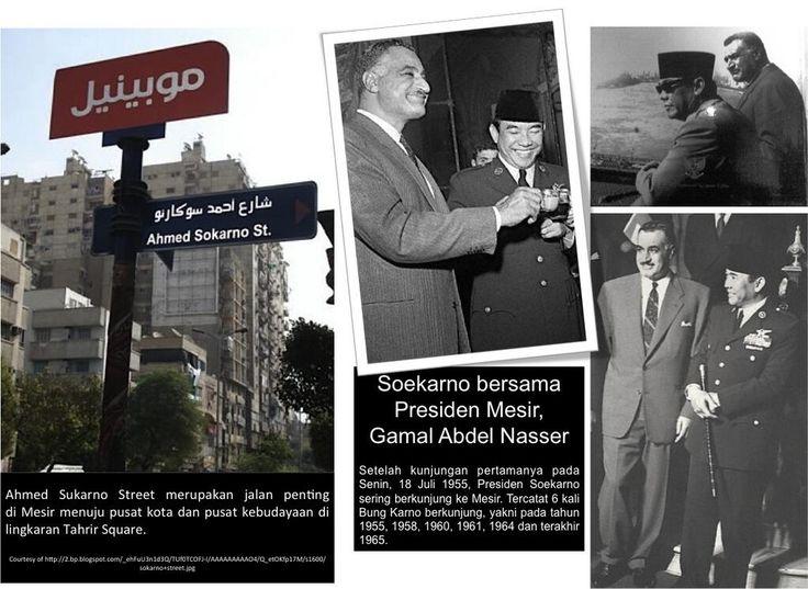 Ahmed Sokarno Street di Mesir, sebuah apresiasi dari bangsa lain terhadap Bung Karno