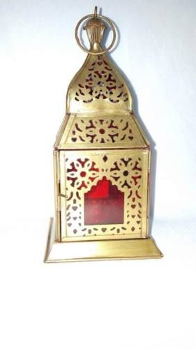 antique-gold-and-red-cut-worked-lantern