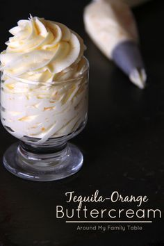 Tequila Sunrise Cupcakes - Around My Family Table