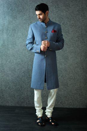 48c7da48f7dfdad2cac67442f9049275 sherwani groom wedding sherwani - Shop Luxury Indian Wedding Attire for Women, Men, Designer Jewelry   BenzerWorld