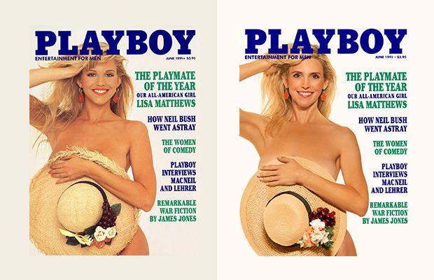Aynı Kapakta Playboy Dergisi'nin Yıldızlarının 30 Yıl Sonraki Halleri