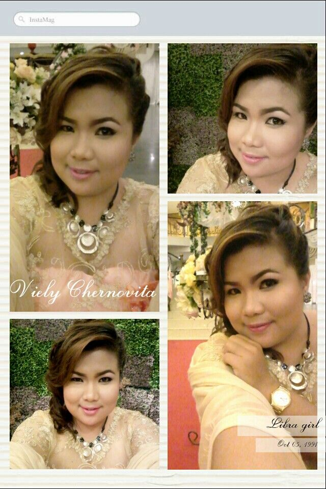 Make up by : Reeza ! So pretty.. I Love it.. !!