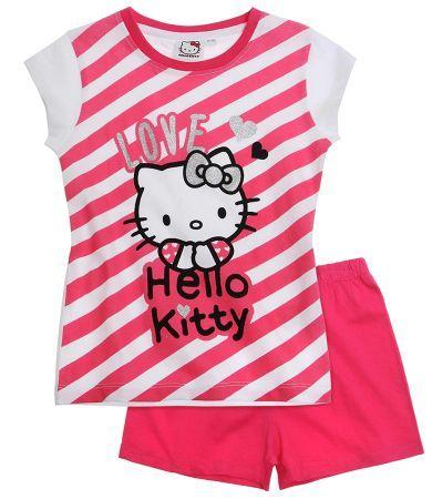 Hello Kitty Short Sleeve Pyjama fuchsia