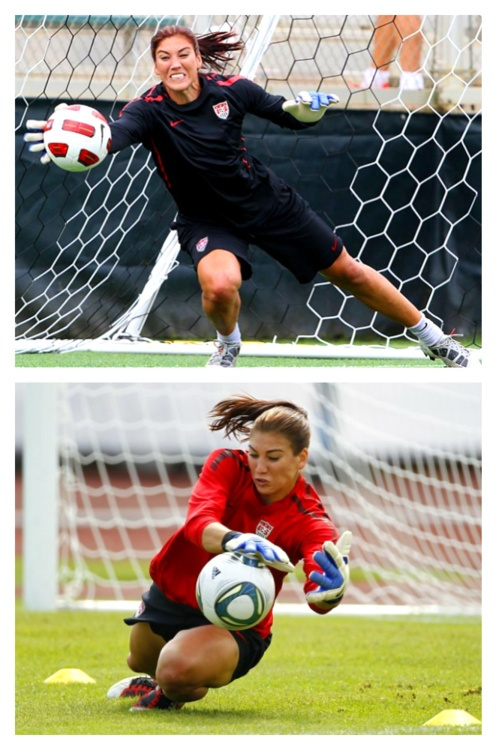 hope solo shes amazing to