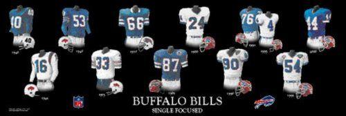 Buffalo Bills Super Bowl Throwback Jerseys