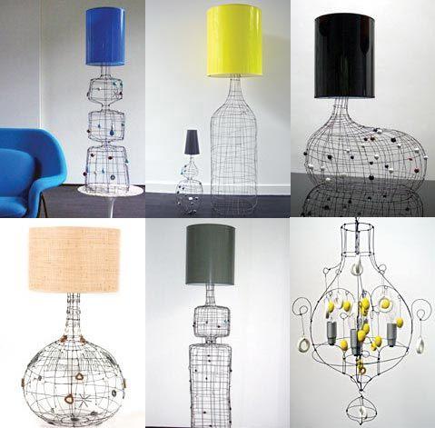 les lampes de Marie Christophe