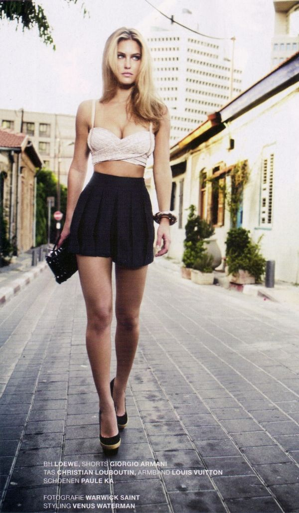 images about From couture to casual chic on Pinterest     Bar Refaeli modeling sense