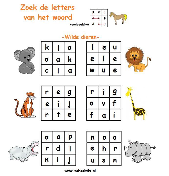 verborgenwoord 2 Wilde dieren(2).png (692×719)