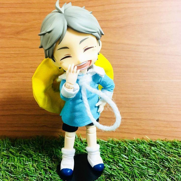 おはようございます!(๑˃̵ᴗ˂̵) 私の学校の少年は今日とても早いです! 。 。 Good morning! My school boy is so early in the morning!! ☀️ 。 。 Follow me in IG / Twitter / FB : @k_shujin 。 #オビツ #オビツ服 #オビツ11 #オビツボディー #オビツろいど #ねんどろいど #ハイキュー #菅原 #菅原孝支 #少年 #obitsu #obitsu11 #obitsubody #obitsuroid #nendoroid #haikyuu #sugawara #sugawarakoushi