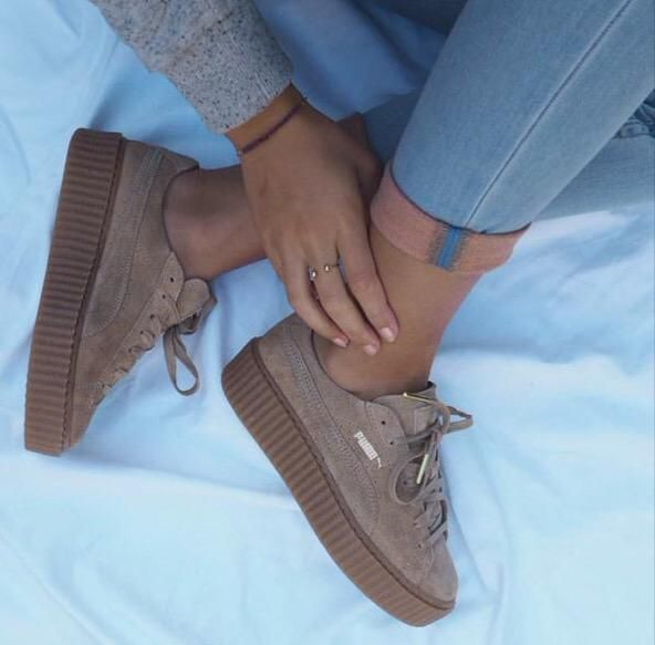 Puma Creepers Rihanna Red