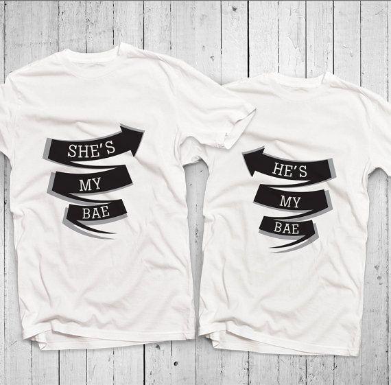 Couple tshirt  matching tshirt  couple shirts  by Mystatement