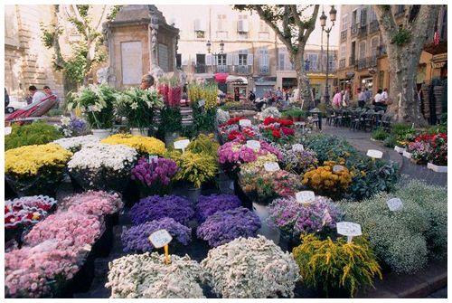 march aux fleurs aix en provence france loccitane provence fantastic provence pinterest. Black Bedroom Furniture Sets. Home Design Ideas