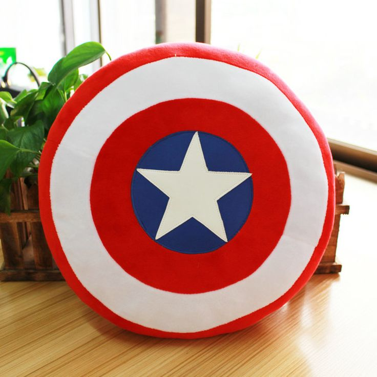 $30.00 The Avengers Captain America Shield Cushion Pillow