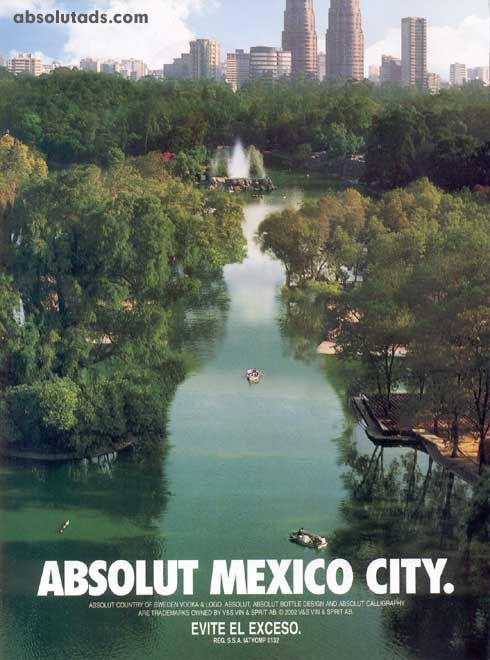 Absolut Mexico City - Marketing