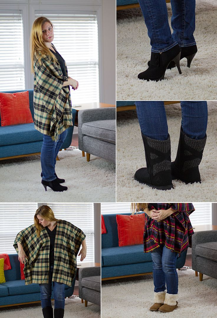 Flannel Jeans For Women