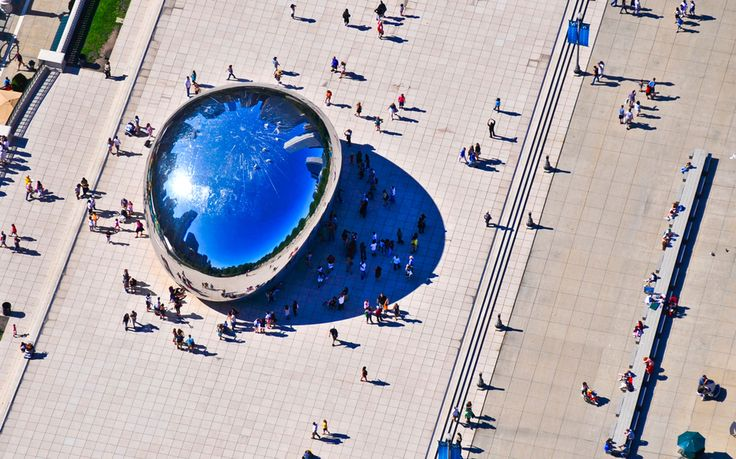 Cloud Gate (TheBean), Chicago - America's Most Beautiful Landmarks | Travel + Leisure