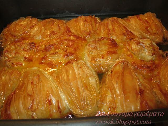 Υλικά:  1 πακέτο φύλλο κρούστας για γλυκά.   1 φλιτζάνι ηλιέλαιο   ½ φλιτζάνι ζάχαρη   ½ φλιτζάνι πορτοκάλι γλυκό του κο...