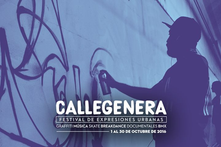 #CALLEGENERA2016 Empieza la cuenta regresiva! #Sabíasque este año el MEETING OF STYLES se llevará a cabo durante las actividades de CALLEGENERA así que prepárate para recibir a los artistas internacionales nacionales y locales que estarán interviniendo los muros de la Línea 2 del Metro Cuauhtémoc con extraordinarios murales. La cita es los primeros 4 días de octubre de 10:00 a 17:00h! #EstoEsCONARTE