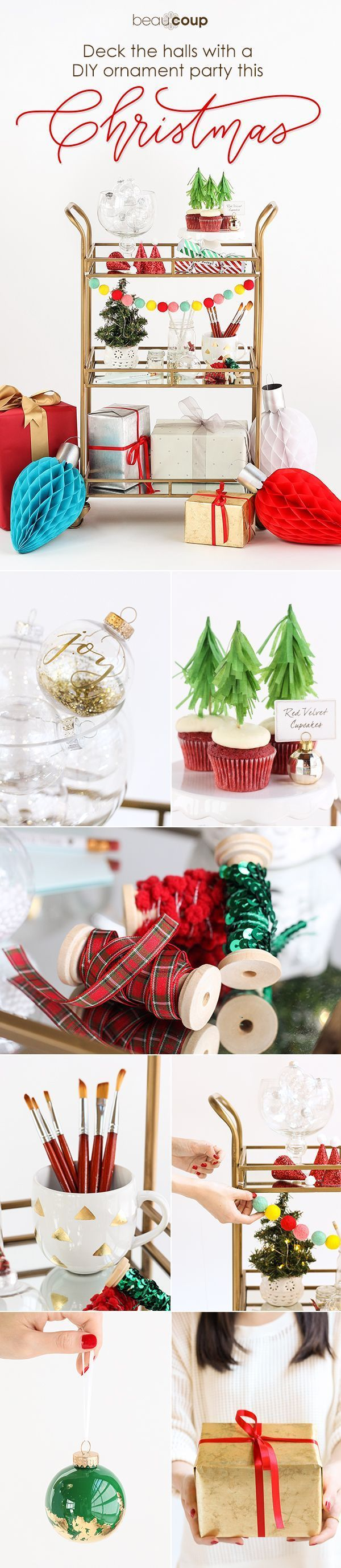 712 best Christmas Decorating Ideas images on Pinterest  Merry