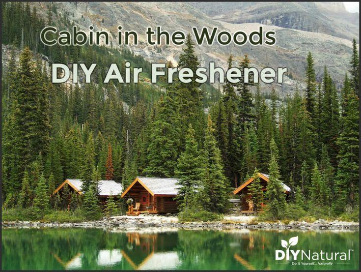 Diy air freshener a pine scented essential oil air