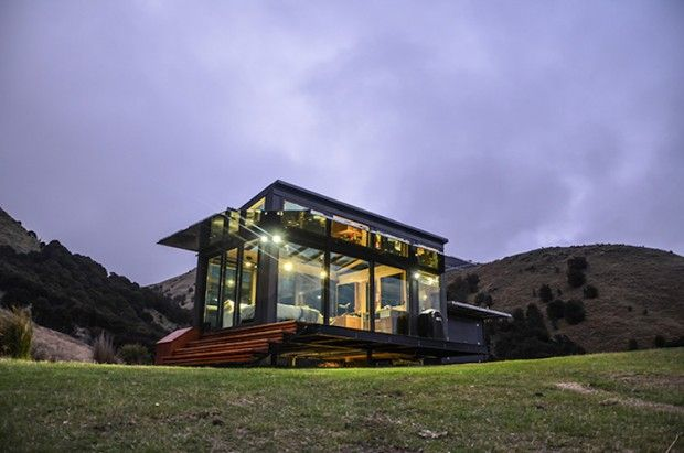 Maisons de vacances durables en Nouvelle-Zélande par PurePods - Journal du Design