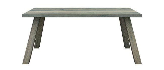 WILD, Colour: Gray, 180x90x76 - www.miloni.pl/en MILONI: wooden table, oak table, natural wood table, table design, furniture design, modern table