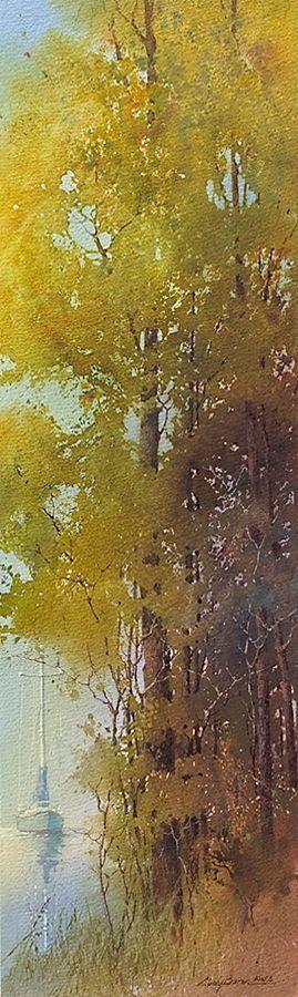 Cindy Baron Watercolor: