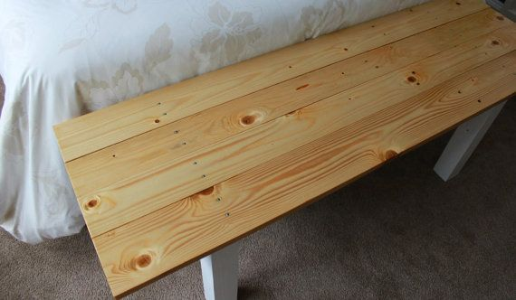 Pallet and oregon bed bench