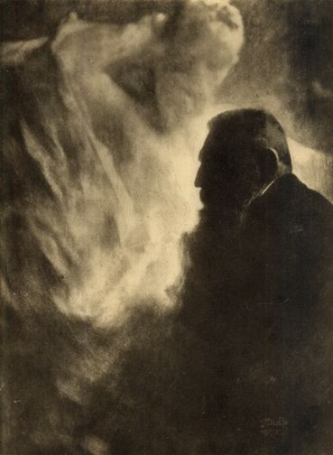 Rodin by Edward Steichen -repinned by San Francisco portrait studio http://LinneaLenkus.com #portraiture